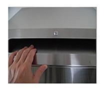 機密書類の溶解処理 機密BOXの特徴 機密書類の逆流防止付き投入口